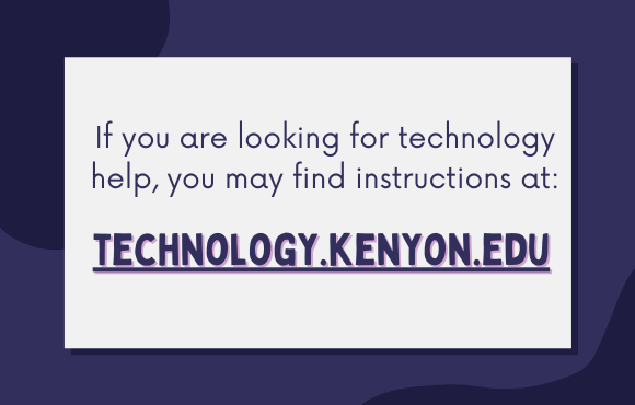 This is an image that describes Looking for Technology Help?